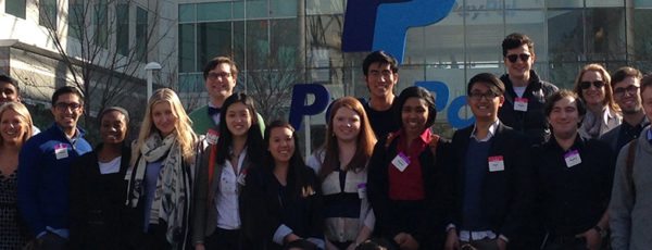 Undergrads visiting Paypal in Industry Exploration
