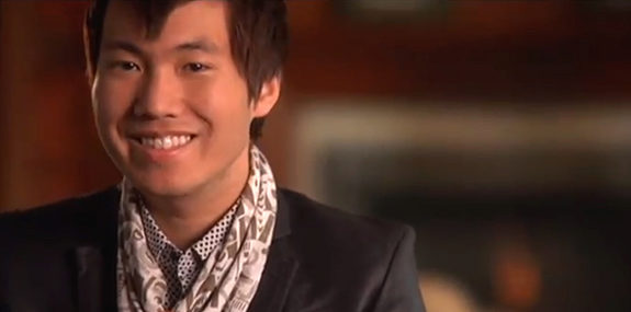 Tony Wang tells how Wharton is helping him follow his dreams to be a fashion entrepreneur.