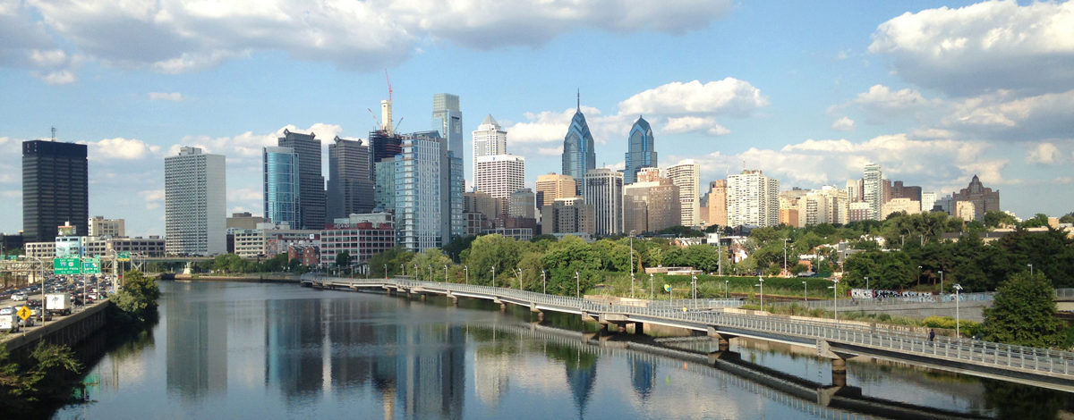 Philly from the South Street bridge